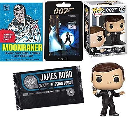 Amazon Com Black Tux James Bond Moore Figure 007 Vinyl Spy