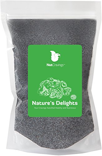 Price comparison product image Nut Cravings Whole Blue Poppy Seeds – (England) 3LB