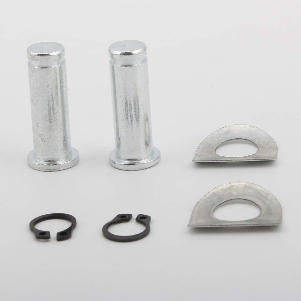 magideal Repose-pieds pour monter goupilles de kit pour Repose-pieds de Style Accessoires