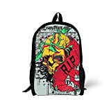 Cool 3D art Children 16-inch School Book Bag Printing Backpacks For Kids,Boys or Girls