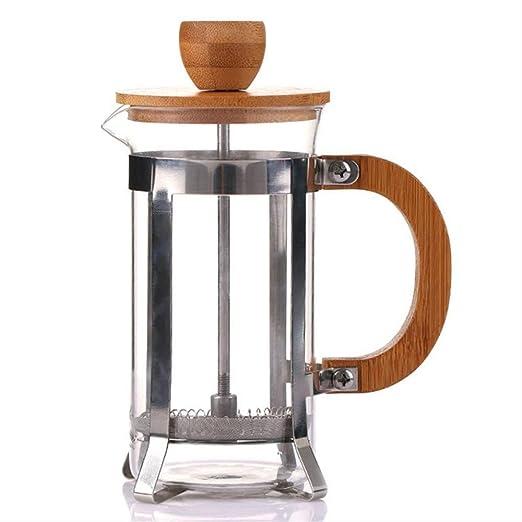 NOBRAND - Cafetera de émbolo francés (filtro de filtro): Amazon.es ...