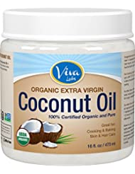 Viva Labs The Finest Organic Extra Virgin Coconut Oil...