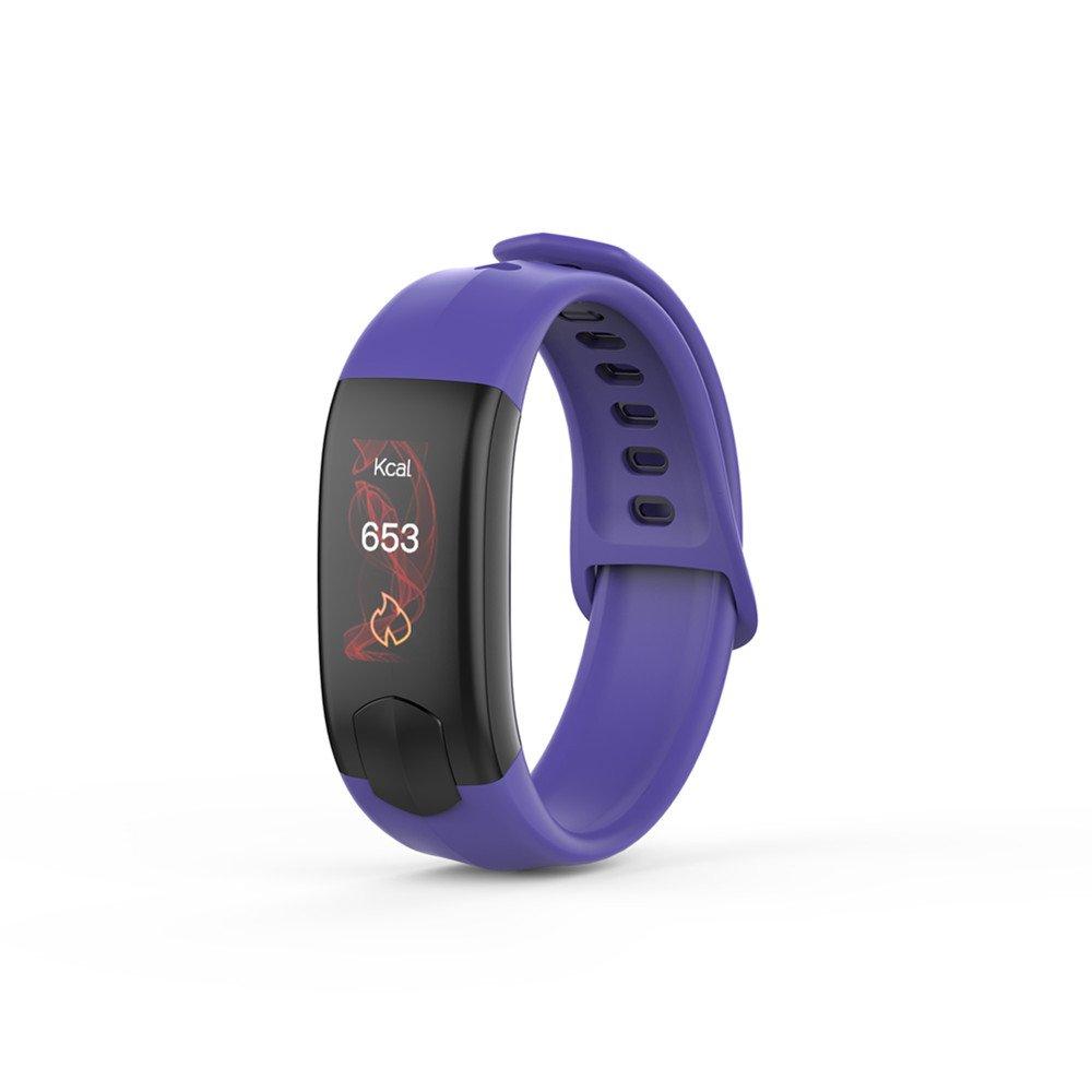Hulorry Sports Fitness Watch for Kids, Sports Fitness Bracelet for Women/Men Bluetooth Fitness Tracker Watch Waterproof Blood Pressure Monitor Sports Fitness Tracker for Android & iPhone