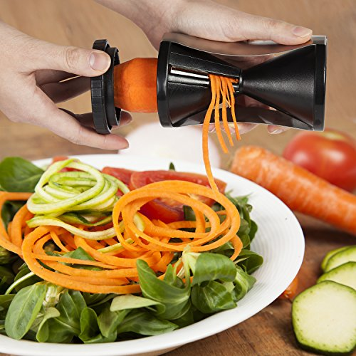 vegetable spiralizer kit zucchini noodle spaguetti maker 4 recipe ebooks premium bundle. Black Bedroom Furniture Sets. Home Design Ideas