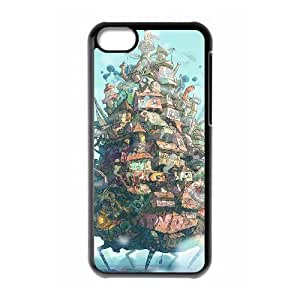 Howl's Moving Castle iPhone 5c Cell Phone Case Black xlb-289519