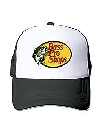 MYDT1 Unisex Bass Pro Shops Logo Classic Mesh Back Trucker Cap Hat