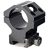 Barrett Ring Fits Picatinny Fits 30mm Scopes, 1.4'', Black