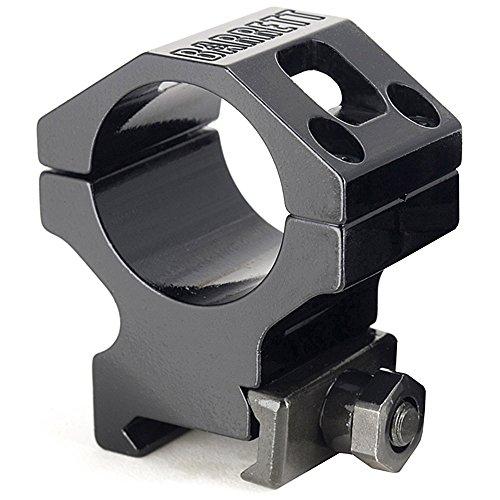 Barrett Ring Fits Picatinny Fits 30mm Scopes, 1.4'', Black by Barrett
