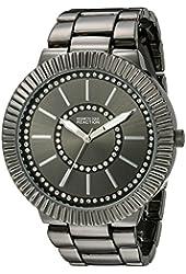 Kenneth Cole REACTION Women's 10021668 Street Analog Display Japanese Quartz Black Watch