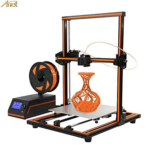 Anet E12 3D Printer, Aluminum Frame High Precision Desktop 3D Printer Kits