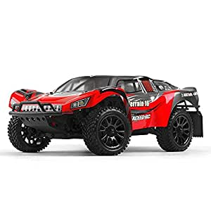 Exceed Racing Desert Short Course Truck 1/16 Scale Ready to Run 2.4ghz (AA Red)