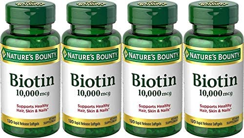 Natures Bounty Biotin 10000 Strength product image
