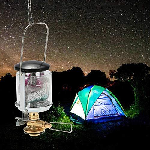 FidgetFidget Mini Gas Lantern Outdoor Ultralight Camping Lamp Torch Hanging Travel Hiking -