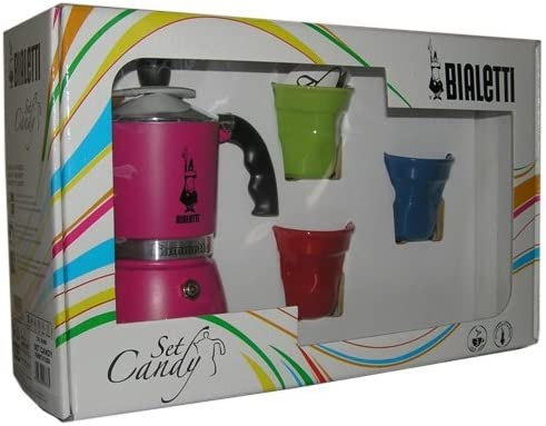 Bialetti 0004900 - Cafetera Italiana (3 Tazas), Color Rosa: Amazon ...