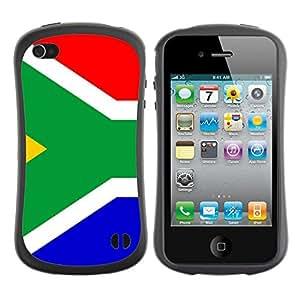 Suave TPU GEL Carcasa Funda Silicona Blando Estuche Caso de protección (para) Apple Iphone 4 / 4S / CECELL Phone case / / Star and Stripes /