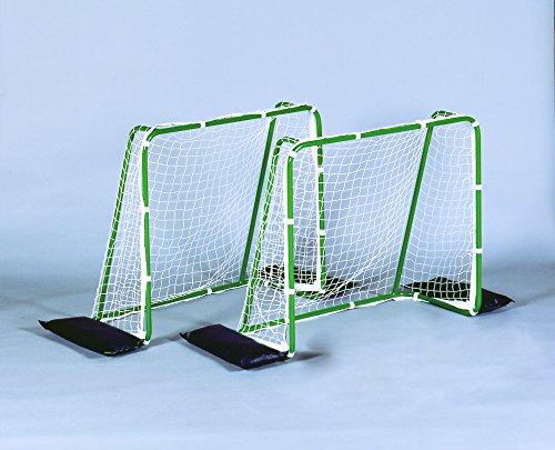 ソフトサッカーゴールセット(ボール2個、ウエイト4個付き)小学校低学年までの対象製品  保育学校用品 室内でも楽しめます B007QYR5XS