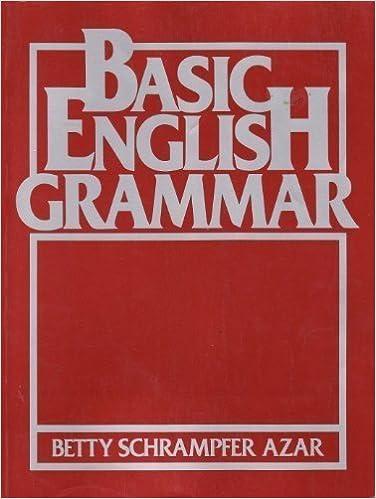 Amazon.com: Basic English Grammar (Azar English Grammar ...