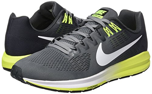 Cool Running White Anthracite de Nike para 007 Hombre 21 Vol Structure Gris Zapatillas Air Zoom Grey qwUvSxF