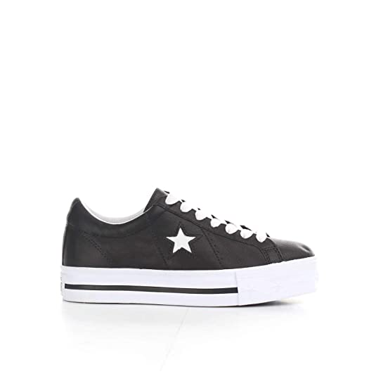 4f7b4e3866df4 Converse Girls  Lifestyle One Star Platform Ox Low-Top Sneakers   Amazon.co.uk  Shoes   Bags