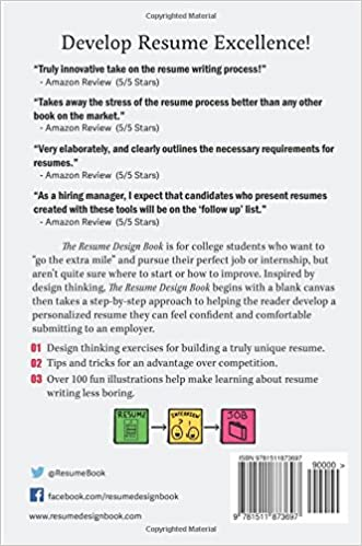 The Resume Design Book: How to Write a Resume in College ...
