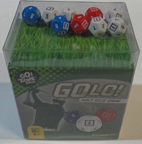 (GOLO Golf Dice Game | For Golfers, Families, and Kids | Portable Fun Game for Home, Travel, Camping, Vacation, Beach | Award Winner)