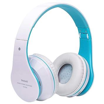Cebbay Liquidación ¡Venta Caliente! Auriculares inalámbricos Bluetooth Auriculares estéreo Bluetooth estéreo in-Ear de música Plegable (E): Amazon.es: ...