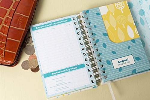 organised mum budget book monthly bill organiser and accounts book