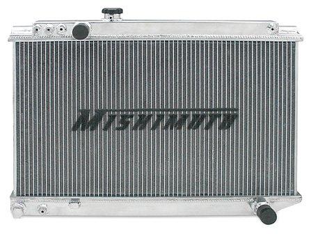 Mishimoto MMRAD-SUP-86 Toyota Supra Performance Aluminum Radiator, 1986-1992, Silver