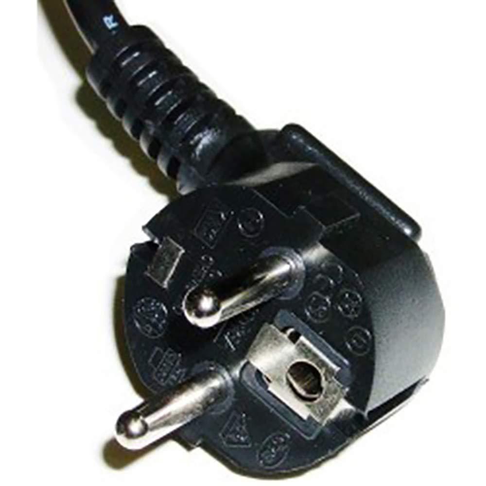 BeMatik Cavo di Alimentazione Elettrico IEC60320 C13 Femmina a Schuko Maschio 30cm