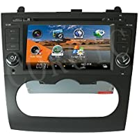 Indash Car Stereo Radio Head Unit GPS Navigation DVD Player for 2007-2012 Nissan Altima w/ Bluetooth/SD/USB/FM/AM Radio/Steering Wheel Control/AV-IN/Free Map