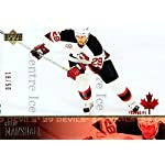 (CI) Grant Marshall Hockey Card 2003-04 Upper Deck UD Exclusives Canadian 115.