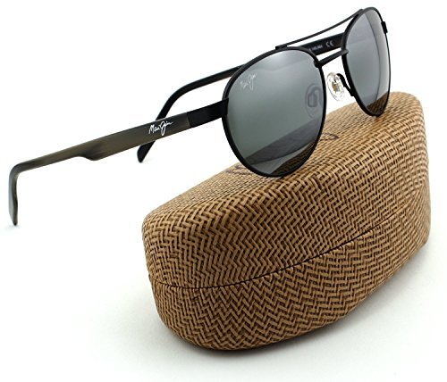 Maui Jim MJ 727-2M Upcountry Matte Black Frame/ Neutral Grey - Maui Mj Sport Jim