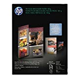 HP C7020A Tri-Fold Brochure Paper,8-1/2''x11'',48Lb,100 Sheets,WE/Glossy