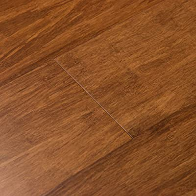 Cali Bamboo - Solid Wide T&G Bamboo Flooring, Java Brown - Sample