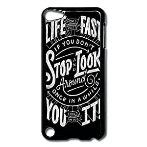 Diy For SamSung Galaxy S3 Case Cover Life Moves Pretty Fast Hard Back Cover Cases Desgined By RRG2G