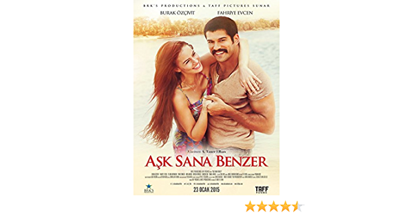 Amazon Com Ask Sana Benzer Burak Ozcivit Fahriye Evcen A Taner Elhan Movies Tv
