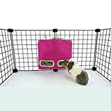 Guinea Pig Hay Bag Feeder (Small, Pink)