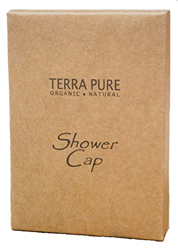 Terra Pure Green Tea Shower Cap Recycled Paper, Soy Ink Box (Case of 500) by Terra Pure Green Tea