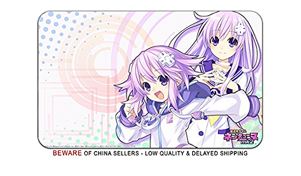CWS Media Group Officially Licensed Hyperdimension Neptunia 02 Breast Mouse Pad