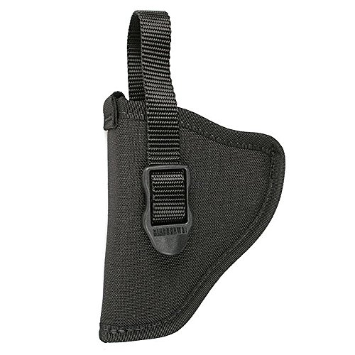 BLACKHAWK! Black Nylon Hip Holster, Size 07, Right Hand, (Barrel Large Autos, Open End)