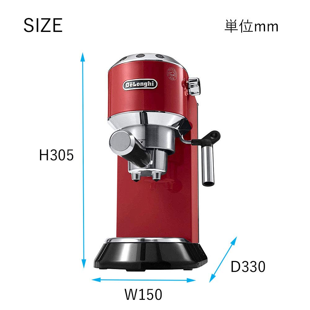 """Amazon.com: DeLonghi """"Dedica Espresso Cappuccino Maker ..."""