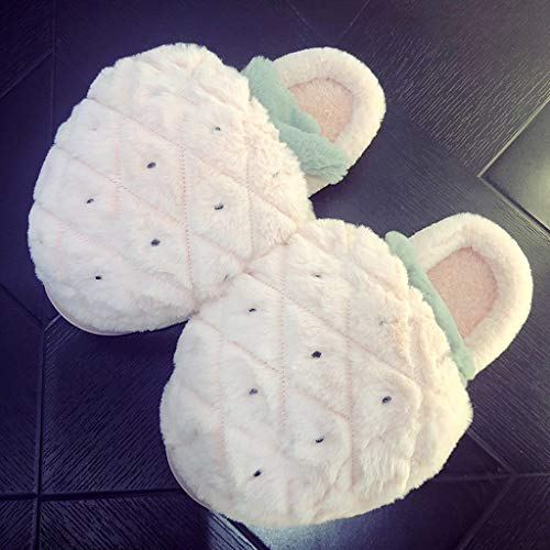 Chaussons De Pantoufles Automne Coton Hiver 41 Femelles HUYP Taille Antidérapantes Et awrqPa