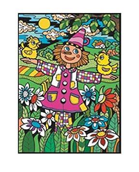 Colorvelvet 47 x 35 cm Espantapájaros Sistema de Dibujo para Colorear (tamaño Grande), Multicolor: Amazon.es: Juguetes y juegos