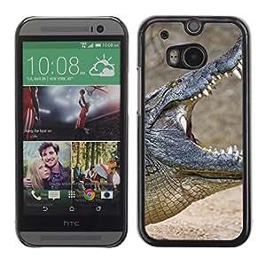 Carcasa Funda Case // Crocodile V0000094 // HTC ONE M8