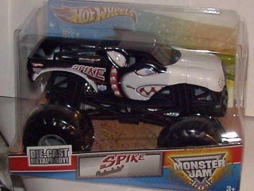 Hot Wheels Monster Jam 1:24 Scale Spike Die-Cast Truck