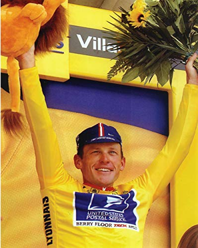 Peel-n-Stick Poster of Lance Armstrong Tour De France Champion Sports S Vivid Imagery Poster 24 x 16 Adhesive Sticker Poster Print