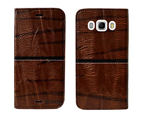COVERNEW Flip Cover for SAMSUNG Galaxy On8::SAMSUNG Galaxy On 8   Golden
