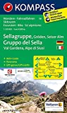 Sellagruppe - Gröden - Seiseralm / Gruppo di Sella - Val Gardena - Alpe di Siusi: Wanderkarte mit Aktiv Guide dt. /ital., Panorama, Radwegen und ... 1:50000 (KOMPASS-Wanderkarten, Band 59)
