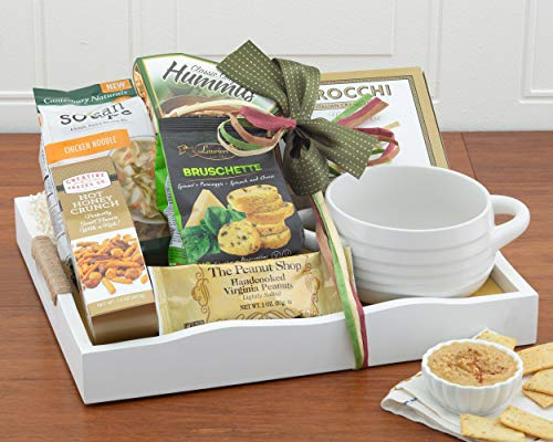 Wine Country Gift Baskets Soup's On Family Gift With Delicious Food & Old-Fashioned Comforting Chicken Soup