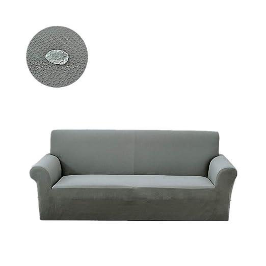 Encounter G Funda de sofá Impermeable de gofre, Alta ...